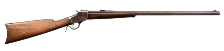WINCHESTER 1885 HI WALL SINGLE SHOT RIFLE.