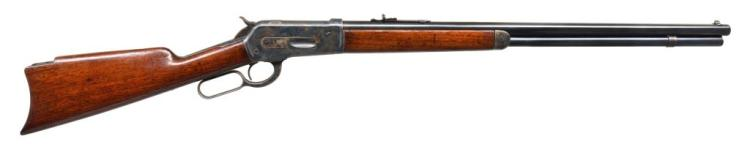 WINCHESTER MODEL 1886 LEVER ACTION RIFLE.