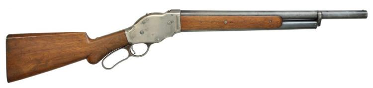 WINCHESTER 1887 LEVER ACTION SHOTGUN.