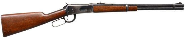 WINCHESTER 94 FLAT BAND LEVER ACTION RIFLE.