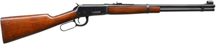 WINCHESTER 94 FLAT BAND LEVER ACTION CARBINE.