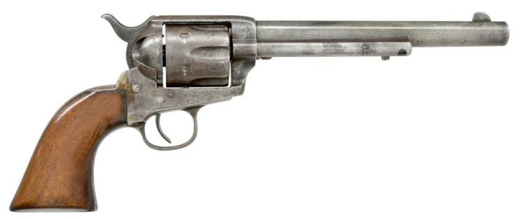 COLT 1873 BLACK POWDER FRAME SAA REVOLVER.