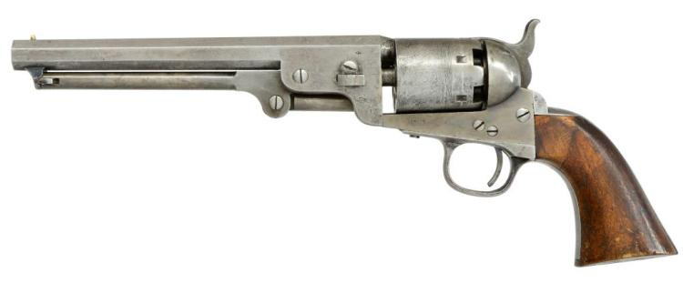 COLT 1851 NAVY 4TH MODEL REVOLVER.
