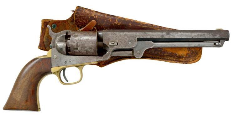 COLT 1851 NAVY FOURTH MODEL REVOLVER.