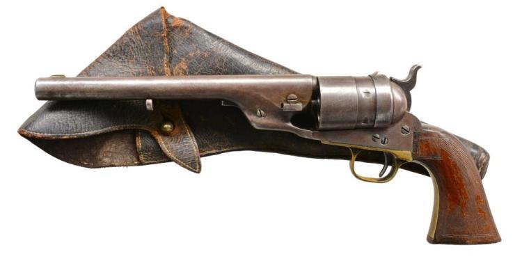 COLT 1860 ARMY RICHARDS CONVERSION REVOLVER.