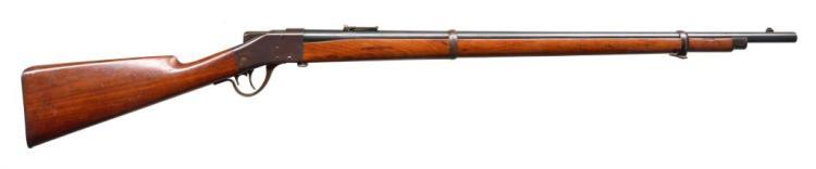 SHARPS BORCHARDT 1878 SINGLE SHOT MILITARY RIFLE.
