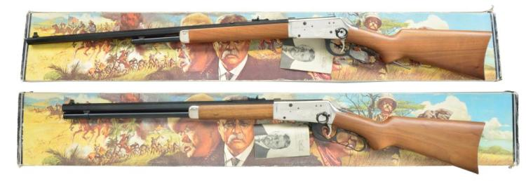WINCHESTER 94 THEODORE ROOSEVELT RIFLE & CARBINE.