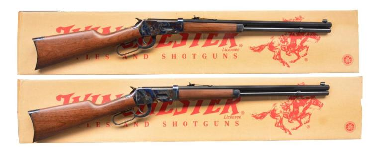 WINCHESTER 94 TRAILS END HUNTER CONSECUTIVE PAIR