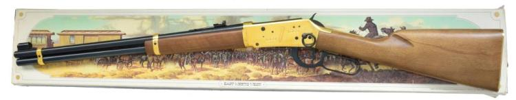 WINCHESTER 94 GOLDEN SPIKE COMMEMORATIVE RIFLE.