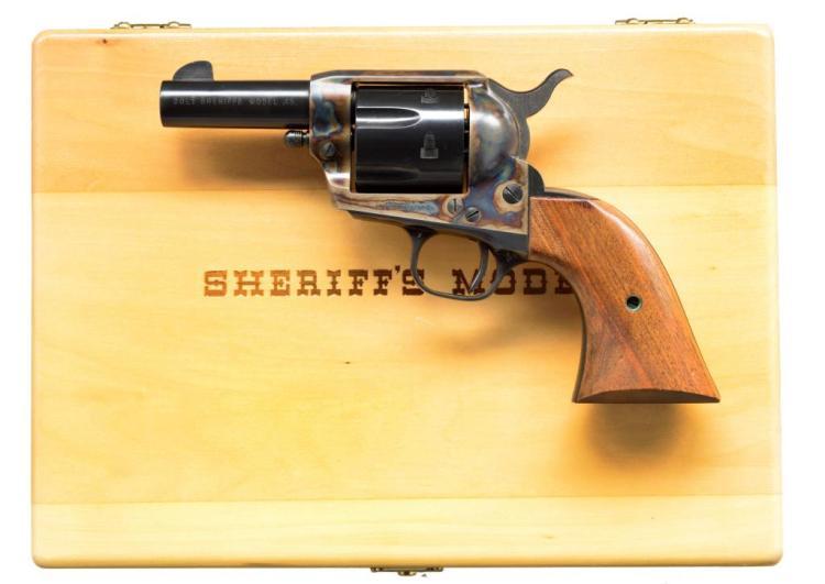 COLT SHERIFF'S MODEL OF 1961 SAA REVOLVER.