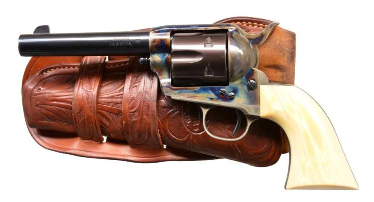 UNITED STATES FIRE ARMS SA REVOLVER.