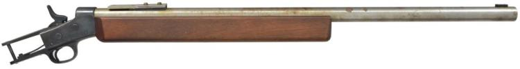 REMINGTON NO. 1 ROLLING BLOCK SINGLE SHOT RIFLE.