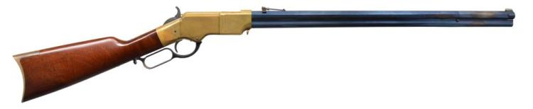 UBERTI 1860 HENRY LEVER ACTION RIFLE.