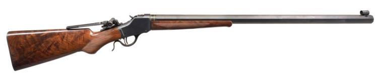 CARTER GUN SHOP CUSTOM WINCHESTER 1885 RIFLE.
