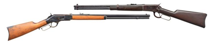 CHAPARRAL & ROSSI LEVER ACTION RIFLES.