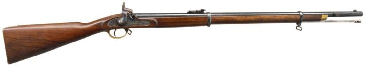 EUROARMS LONDON ARMORY ENFIELD PERCUSSION RIFLE.