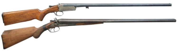 2 AMERICAN SHOTGUNS BY REMINGTON & EASTERN ARMS.