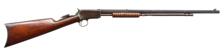 WINCHESTER 1890 2ND MODEL PUMP RIFLE.
