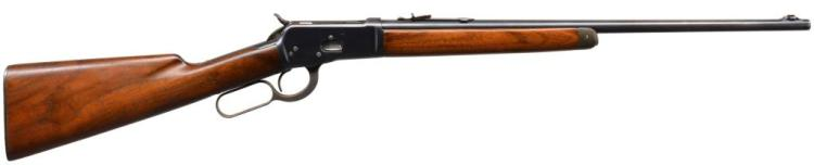 WINCHESTER 53 LEVER ACTION RIFLE.