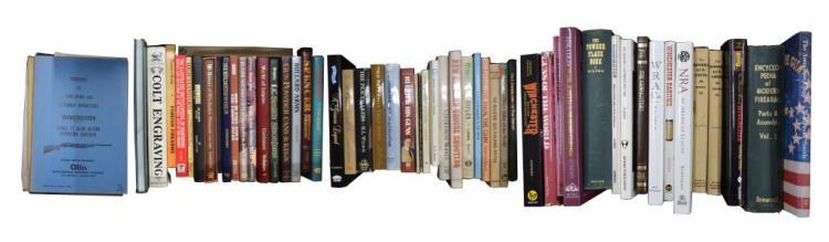 LOT OF FIREARM & FIREARM RELATED BOOKS.
