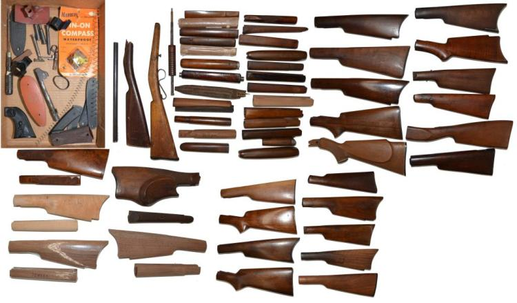 GROUP OF MAINLY WINCHESTER STOCKS.
