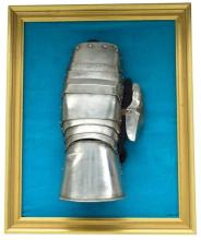 EARLY GERMAN ARTICULATED GAUNTLET.