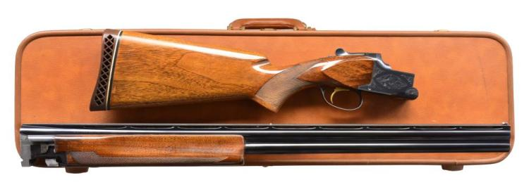 BROWNING SUPERPOSED BROADWAY TRAP O/U SHOTGUN