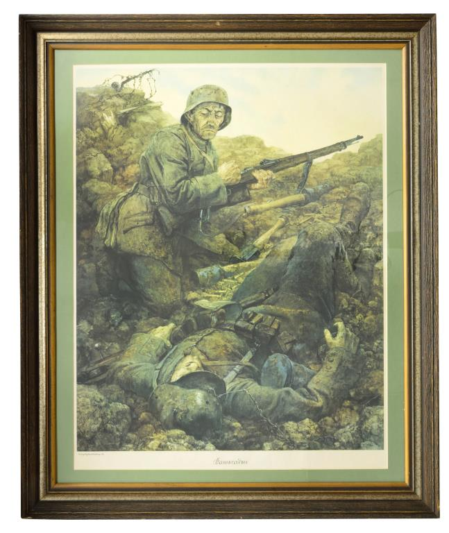 a frame homes 4 framed wwii german items 10054