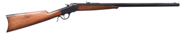 WINCHESTER 1885 LOW WALL SINGLE SHOT RIFLE.