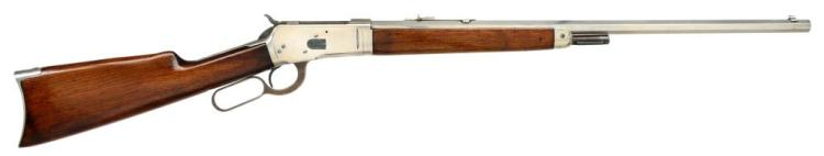 WINCHESTER 92 TAKEDOWN LEVER ACTION RIFLE.