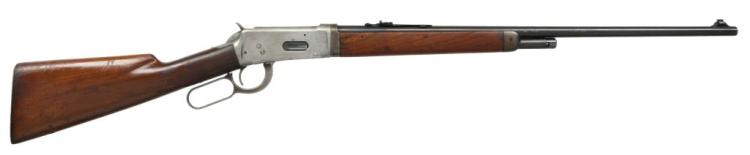WINCHESTER 55 TAKEDOWN LEVER ACTION RIFLE.