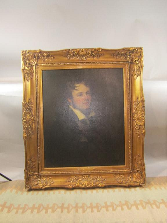 H18-41  HENRY WILLIAM PICKERSGILL OIL PAINTING