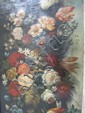 H25-10  PAIR OF FLORAL STILL LIFE OIL PAINTINGS