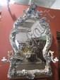 NY115  MUSEUM QUALITY MEISSEN MIRROR
