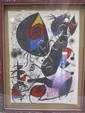 H46-1  MIRO SIGNED LITHOGRAPH