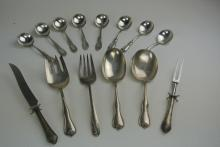 14 PIECE STERLING SILVERWARE