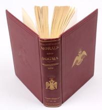 MORALS & DOGMA-SCOTTISH RITE OF FREEMASONRY BOOK
