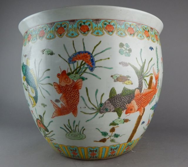 Chinese porcelain fish bowl for Chinese fish bowl