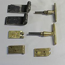 Hinges and Door Handles