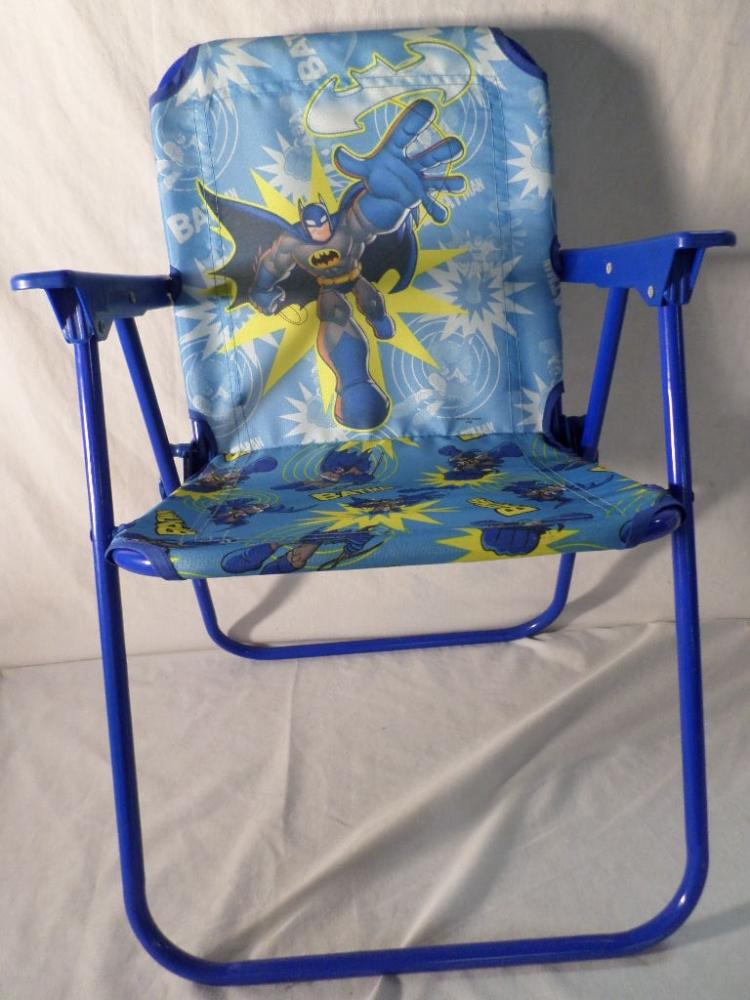 Stupendous Kids Batman Folding Chair Machost Co Dining Chair Design Ideas Machostcouk