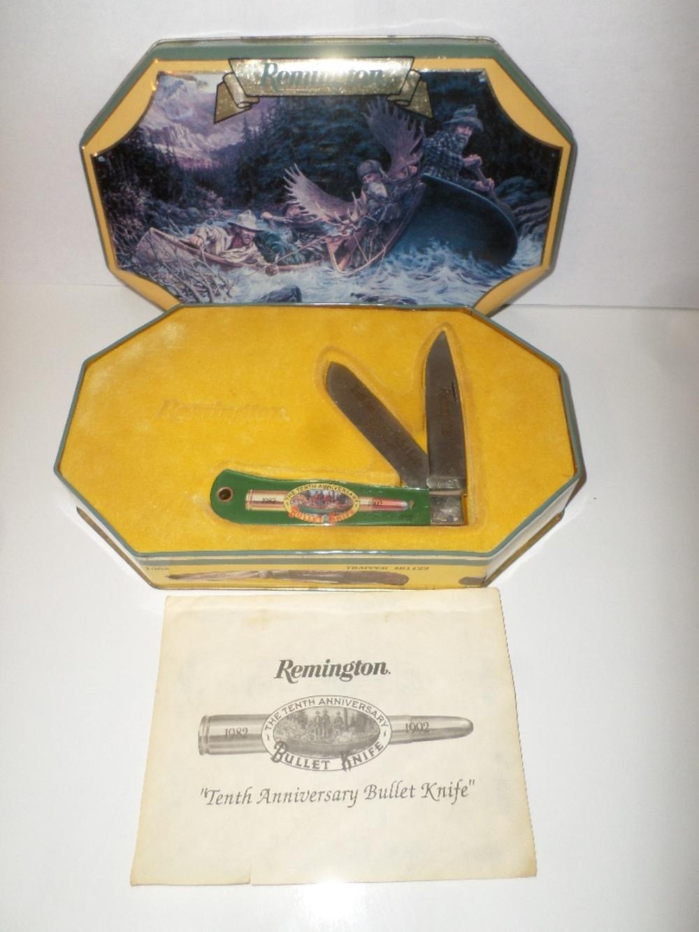 Knife- Remington 10th Anniversary Set R-1123-A