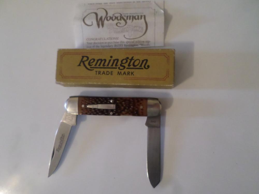 Knife- Remington 1985 Woodsman R-4353