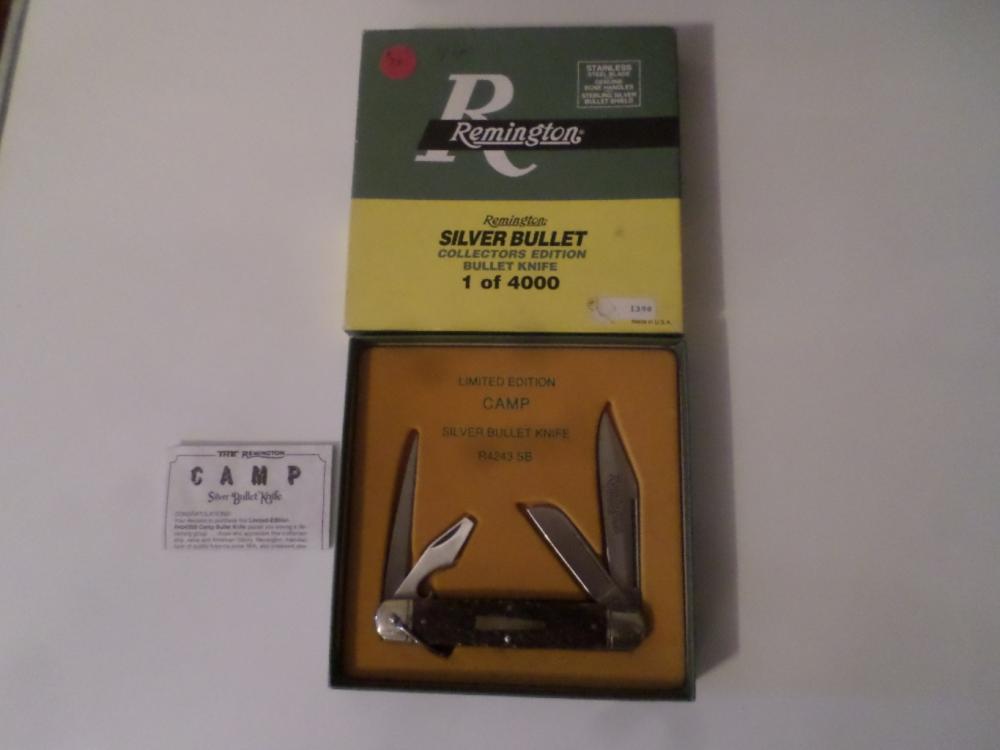 Knife- Remington Camp Knife R-4243-SB W/Box
