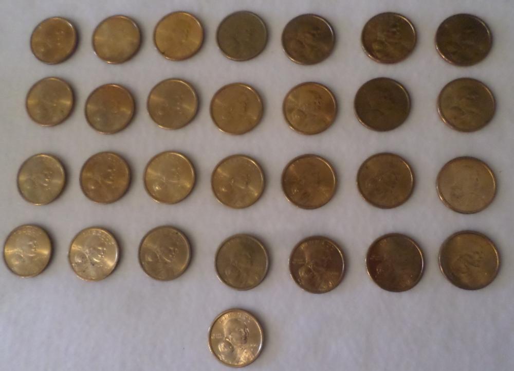 Coins Lot - Qty 29- 2000 P, Liberty Gold Dollars