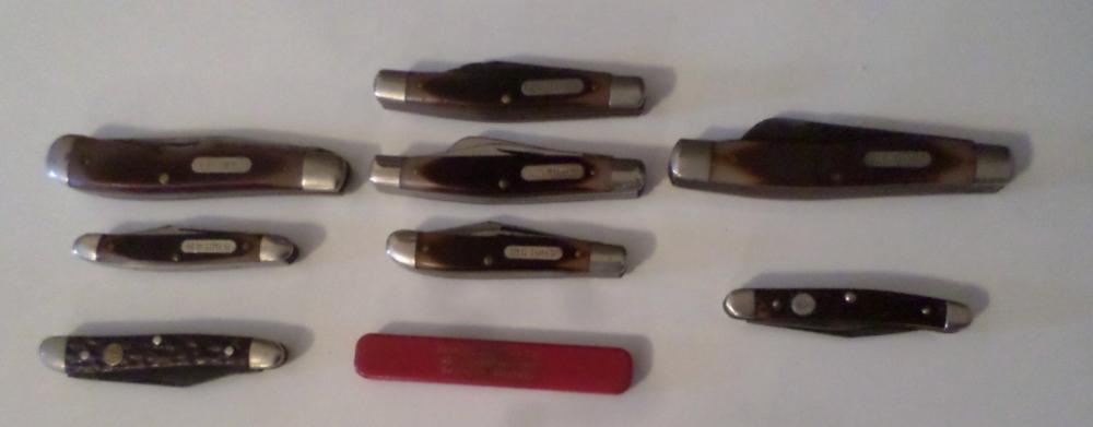 Knives- Assorted Pocket Knives Qty 9