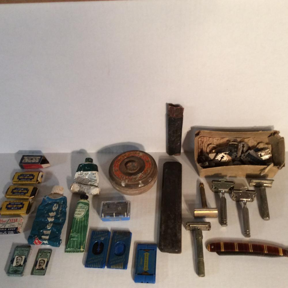 Vintage Razors & Razor Blades