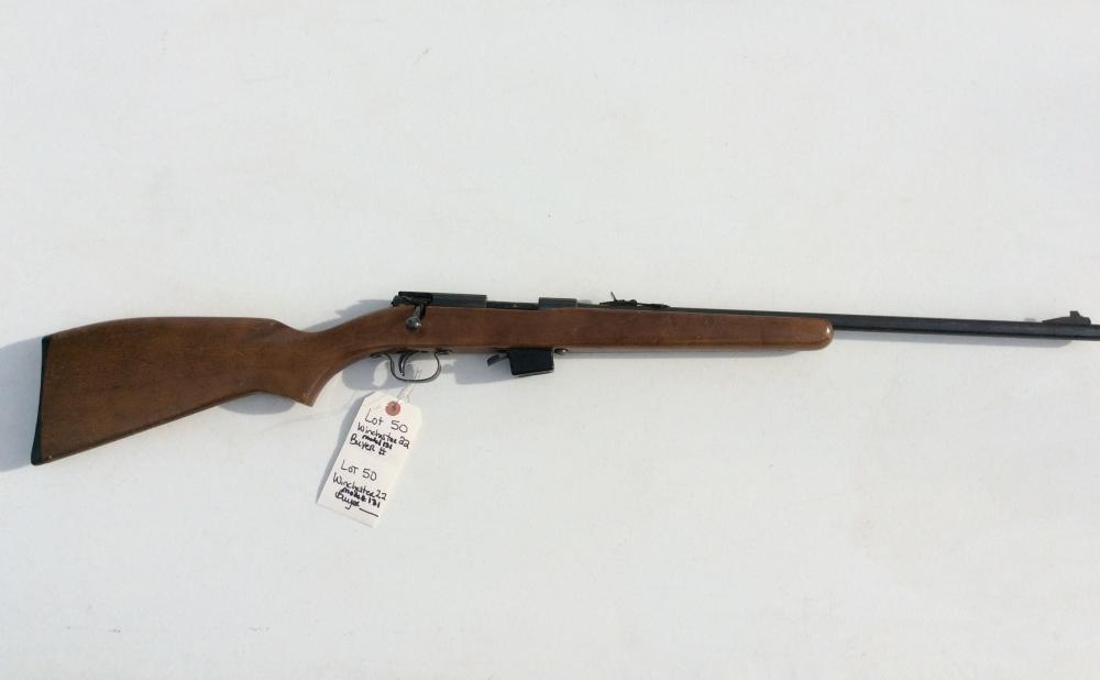 Winchester 22 LR Model 131. Bolt Action