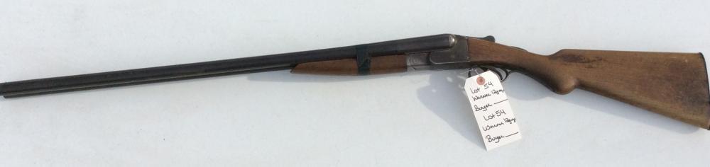 Davis Warner 12 Gauge Double Barrel Shot Gun