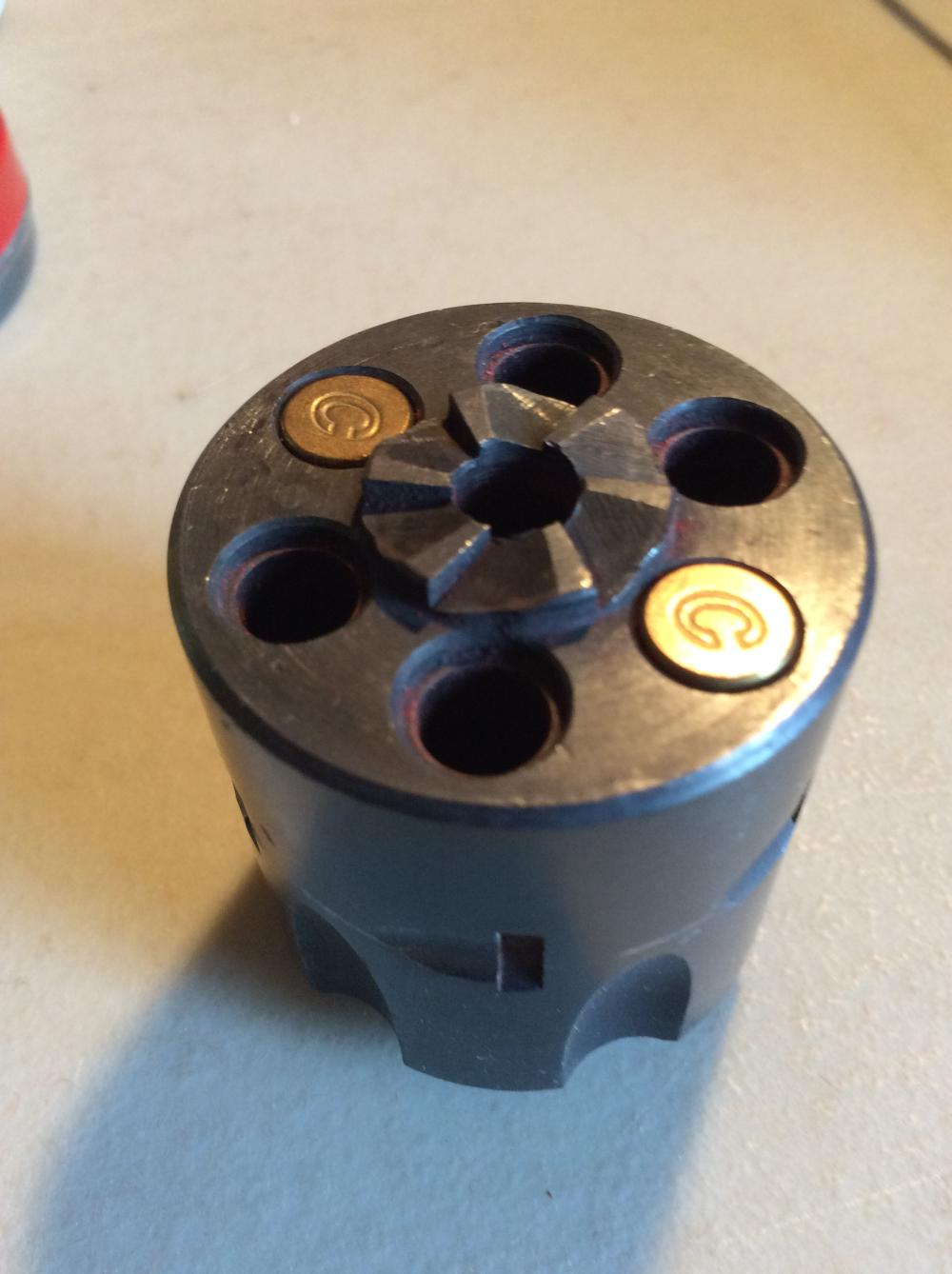 Ammo and Colt Cylinder