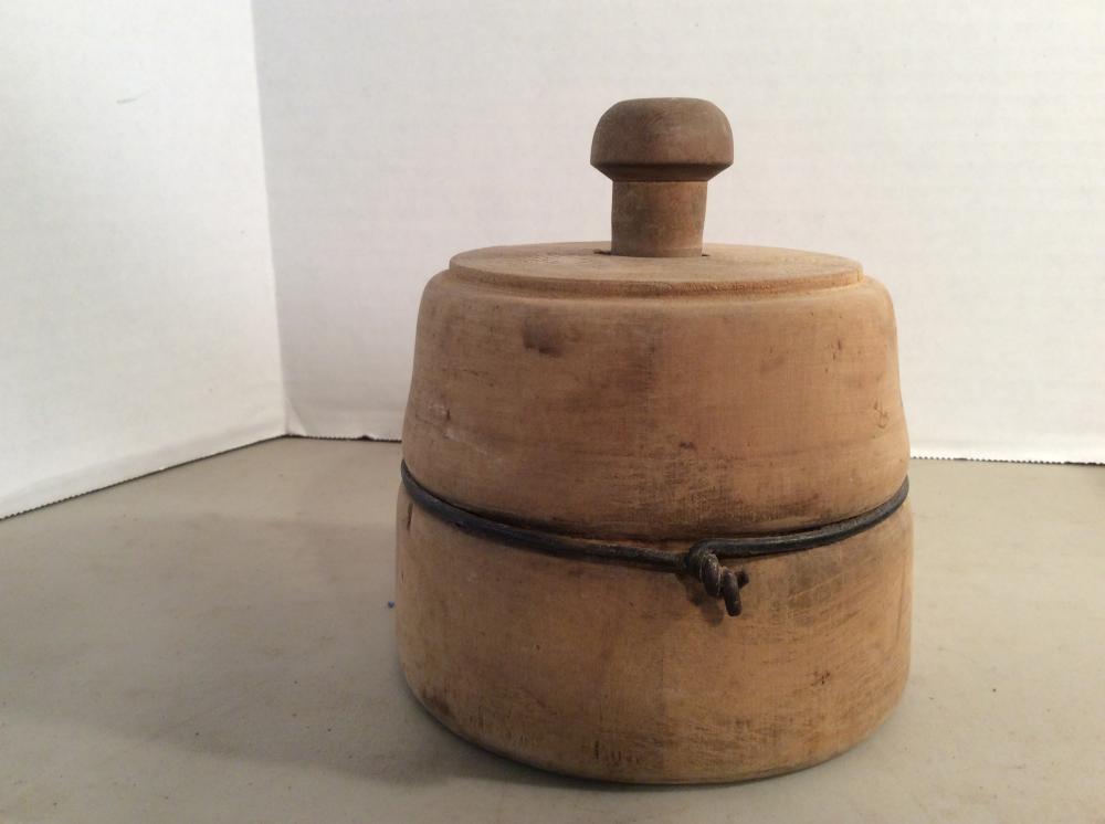 Antique Wood Butter Mold